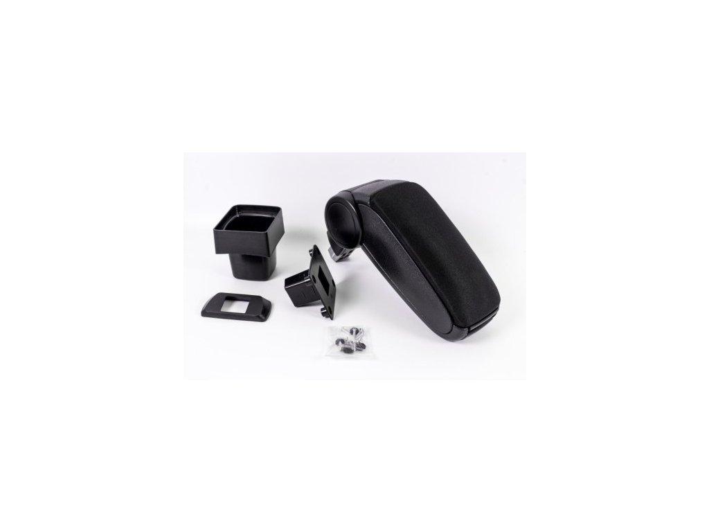 Lakťová opierka Suzuki SWIFT 7 (Farba Čierna farba, Materiál Textilný poťah opierky)
