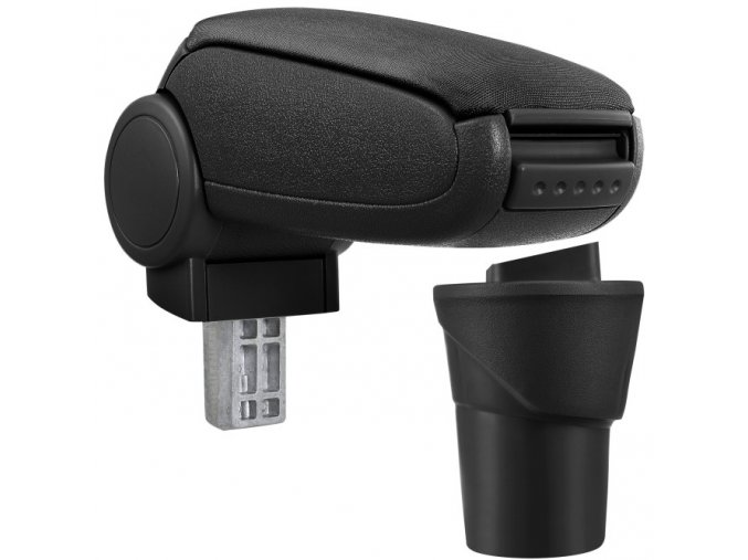 Lakťová opierka Nissan MICRA K13 (Farba Čierna farba, Materiál Textilný poťah opierky)