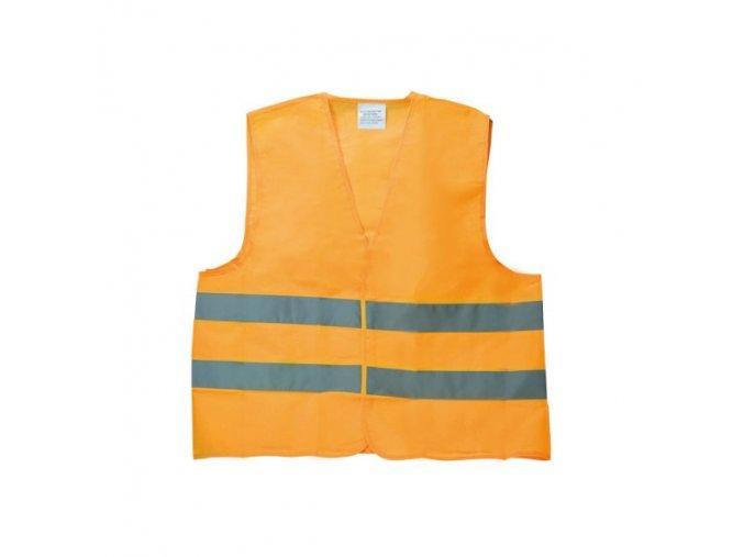 Reflexná vesta XL oranžová