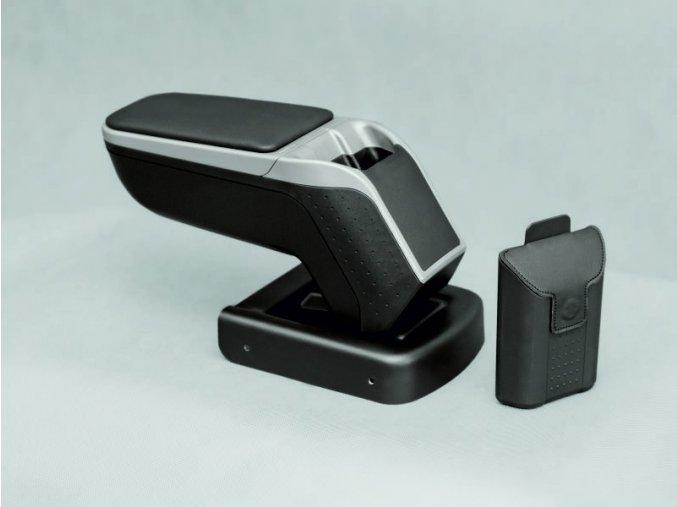 Lakťová opierka Ford FOCUS 3 - Armster 2 (Farba Čierna farba, Materiál Poťah opierky eko-koža)