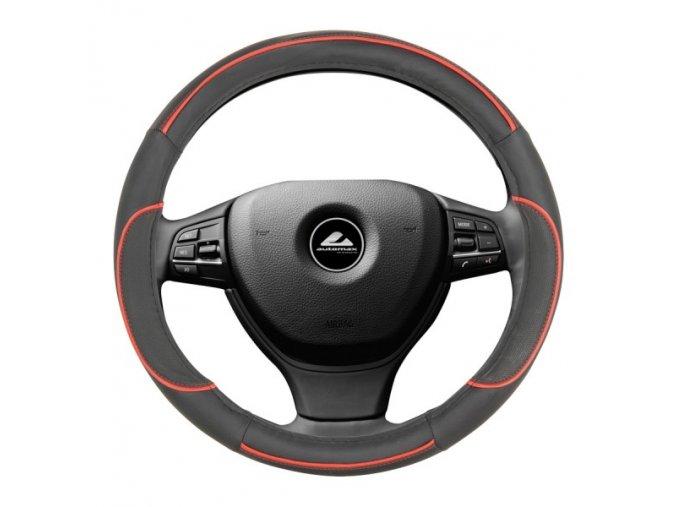 Poťah volantu 35-37cm (Farba Čierno/biela)