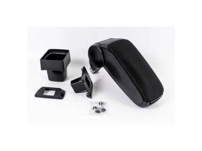 Lakťová opierka Suzuki SWIFT 6 (Farba Čierna farba, Materiál Textilný poťah opierky)