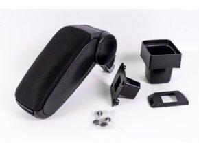 Lakťová opierka Fiat SEDICI (Farba Čierna farba, Materiál Textilný poťah opierky)