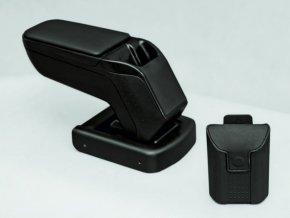 Lakťová opierka Chevrolet AVEO 1 - Armster 2 (Farba Čierna farba, Materiál Poťah opierky eko-koža)