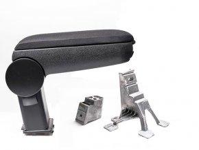 Lakťová opierka VW POLO 5 model 6R - kovový adaptér (Farba Čierna farba, Materiál Textilný poťah opierky)