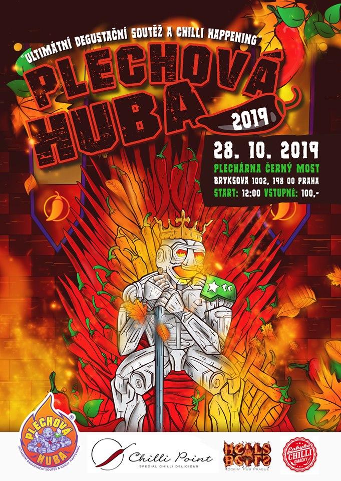 PLECHOVÁ HUBA 2019