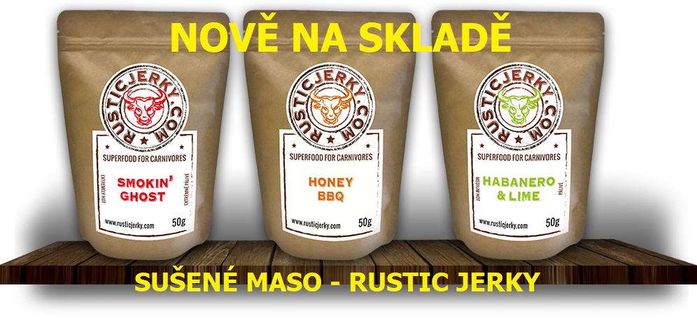Novinka - Rustic jerky