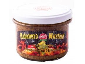 Habanero mustard 200 g - Chilli hořčice s papričkami Habanero a bylinkami