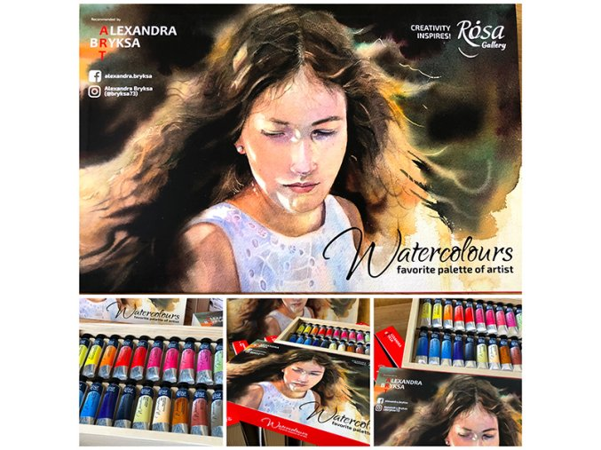600 Watercolor set 24