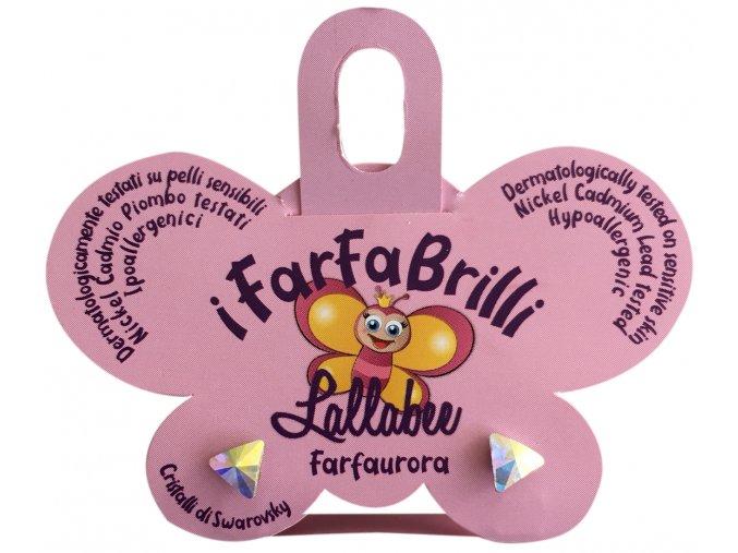 Dětské náušnice FARFAURORA - SWAROVSKI