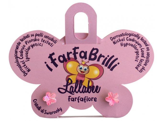 Dětské náušnice FARFAFIORE - SWAROVSKI