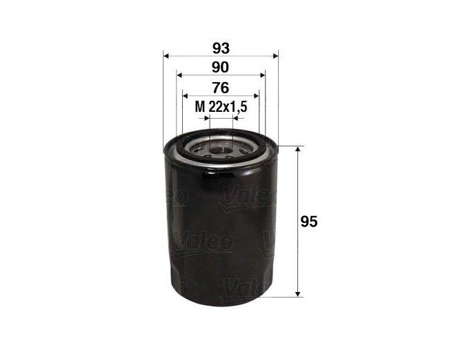 Olejový filtr Valeo 586006