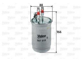 Palivový filtr Valeo 587518