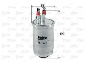 Palivový filtr Valeo 587521