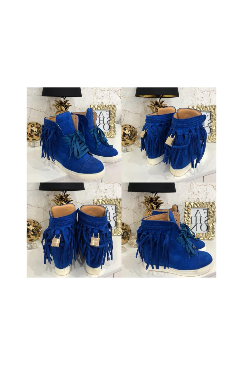 Modré sneakersky