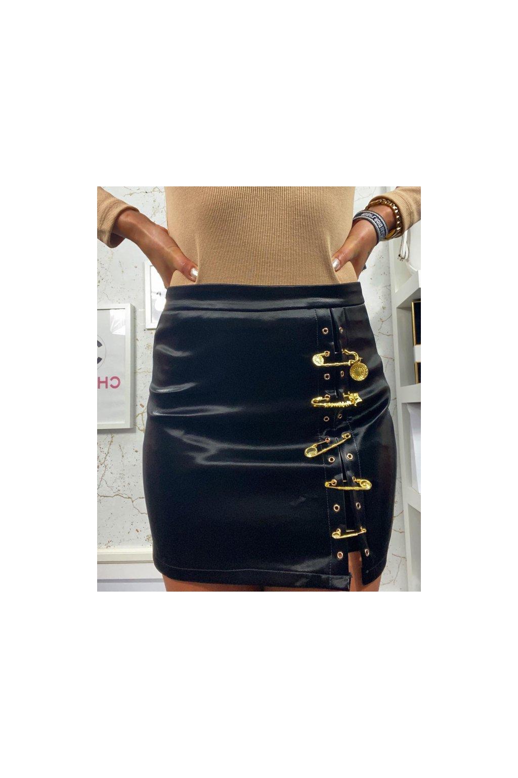 Super sukně se zlatými detaily