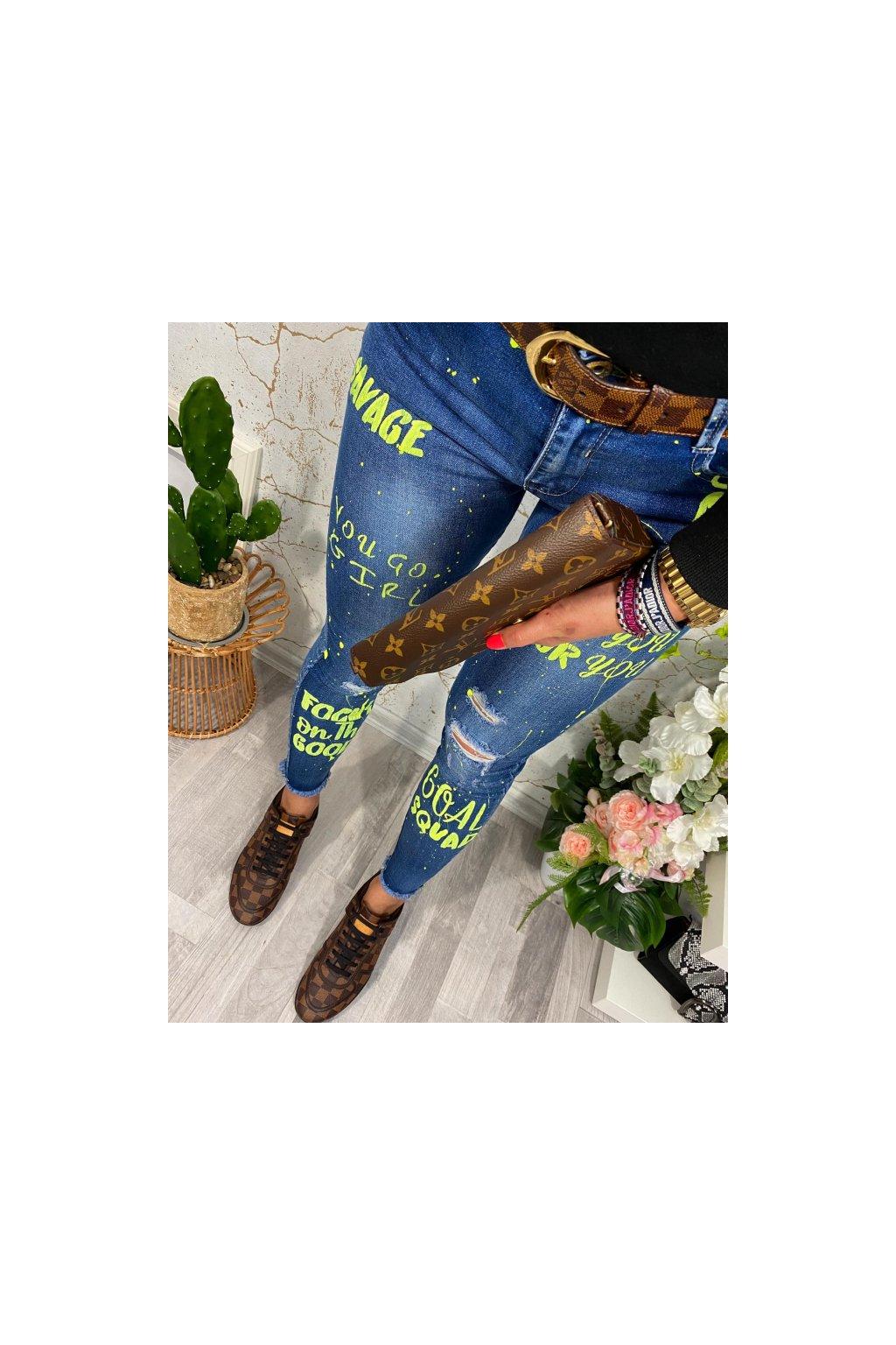 Neon Art Skinny fit jeans
