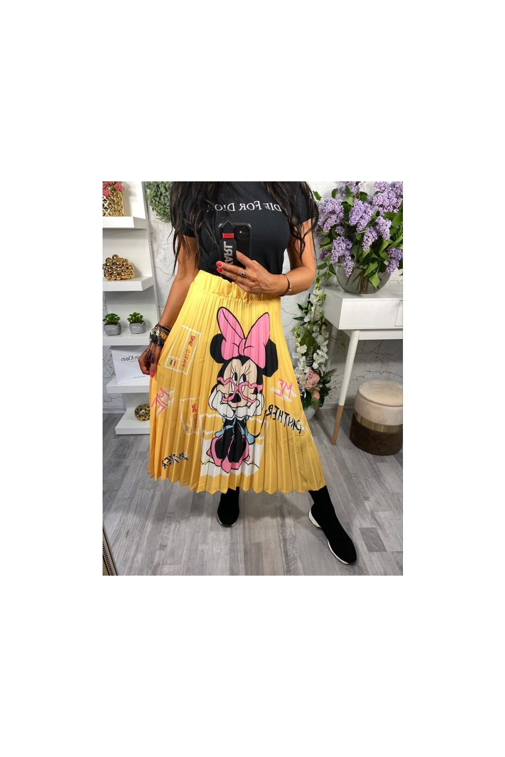 Dokonalá MIDI sukně Minnie