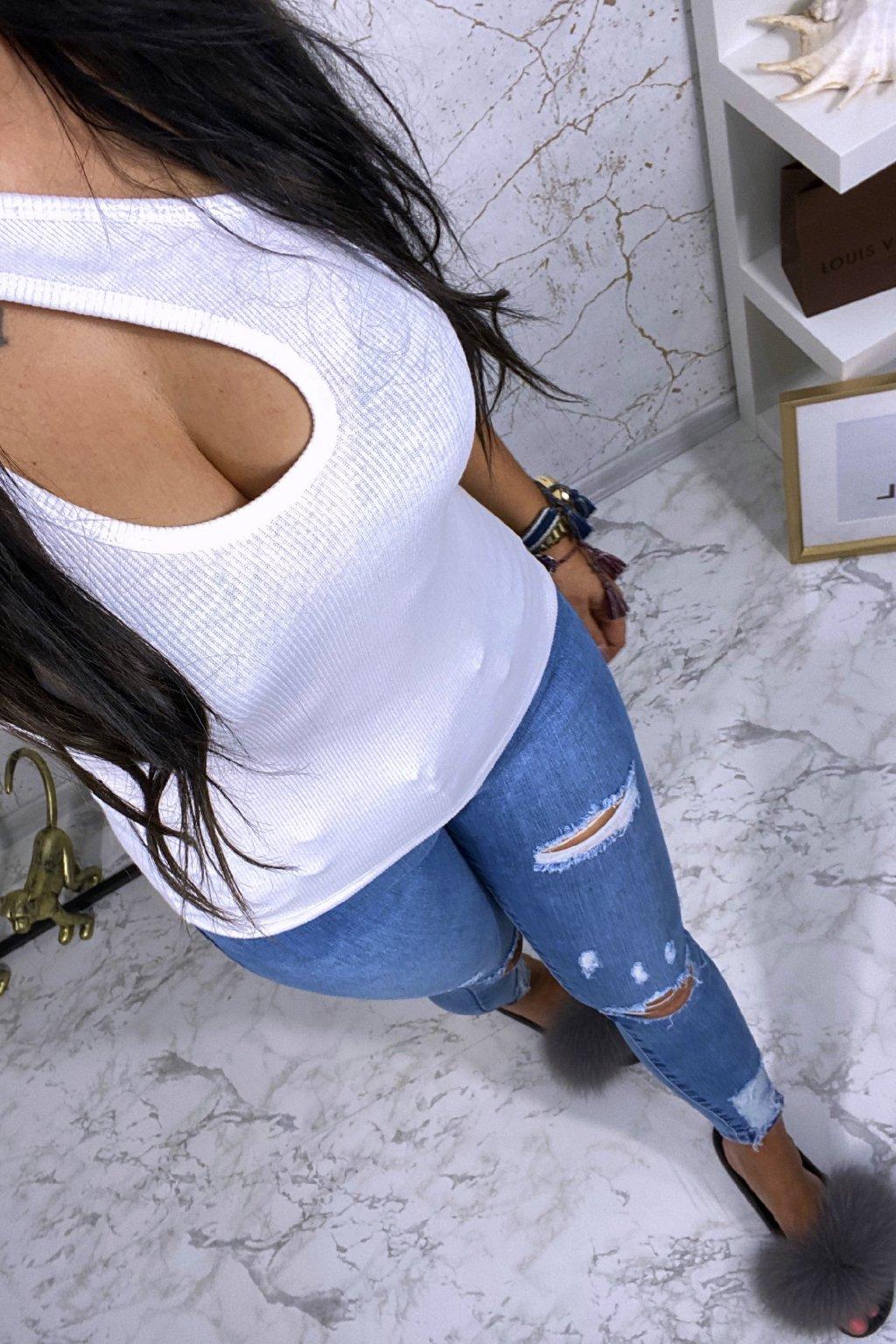 Asymetrický top - Bílý