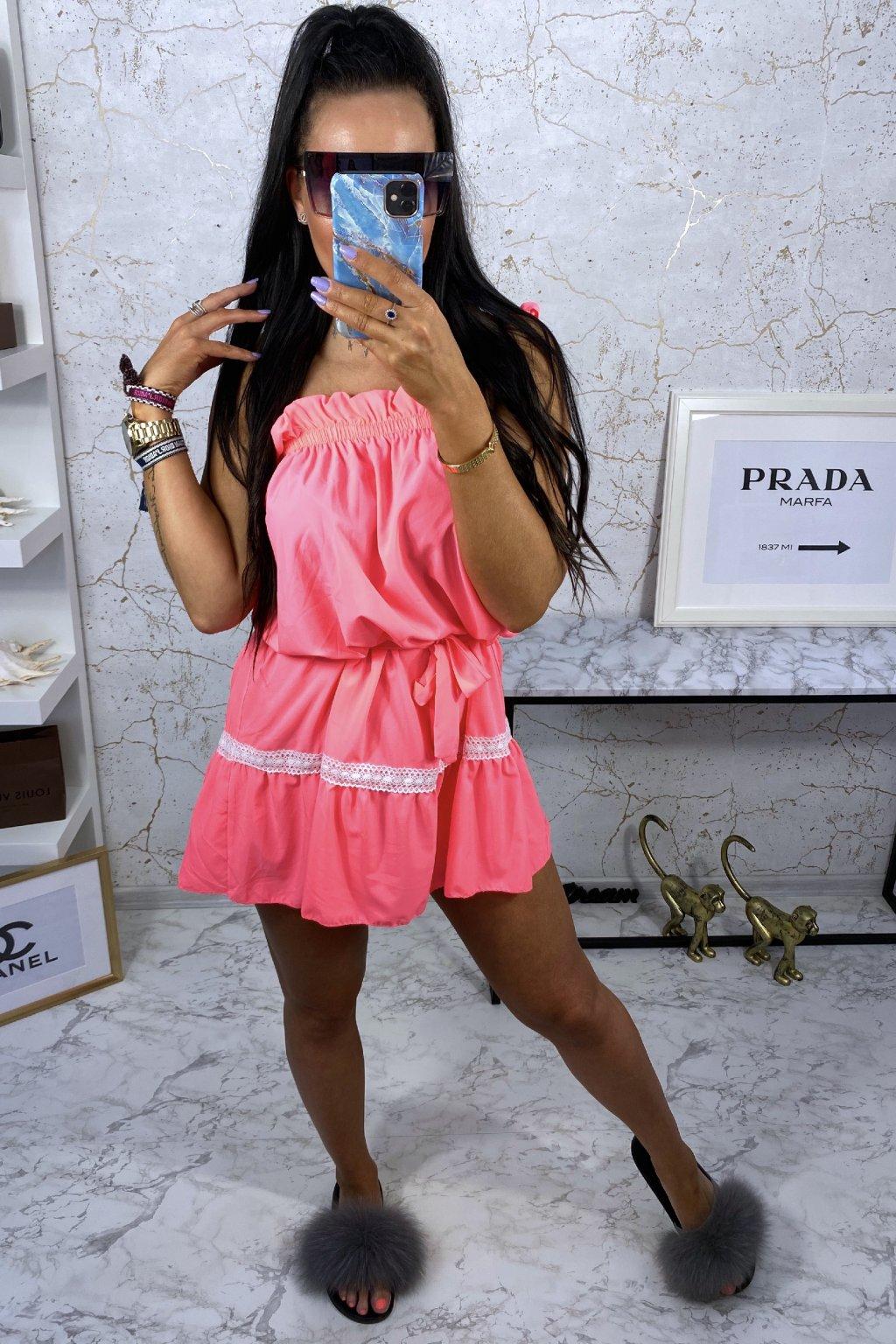 Neon šaty Ariana