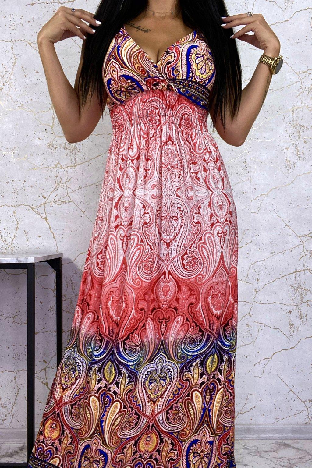 Maxi šaty Orient Red