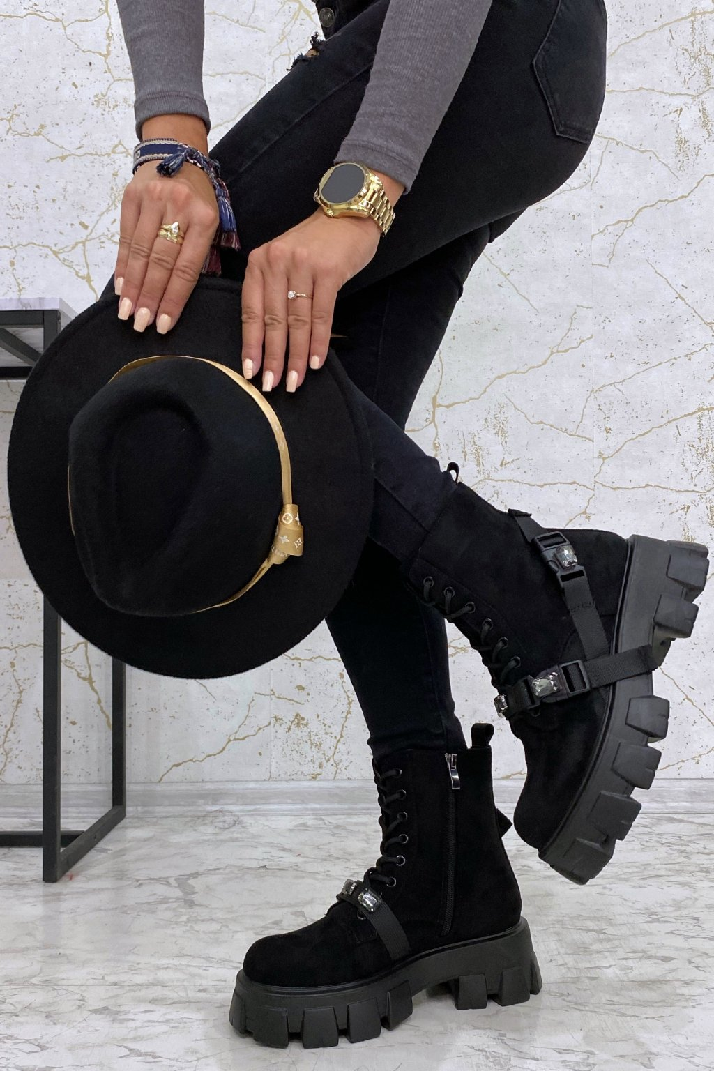 Stylové boty Crystal