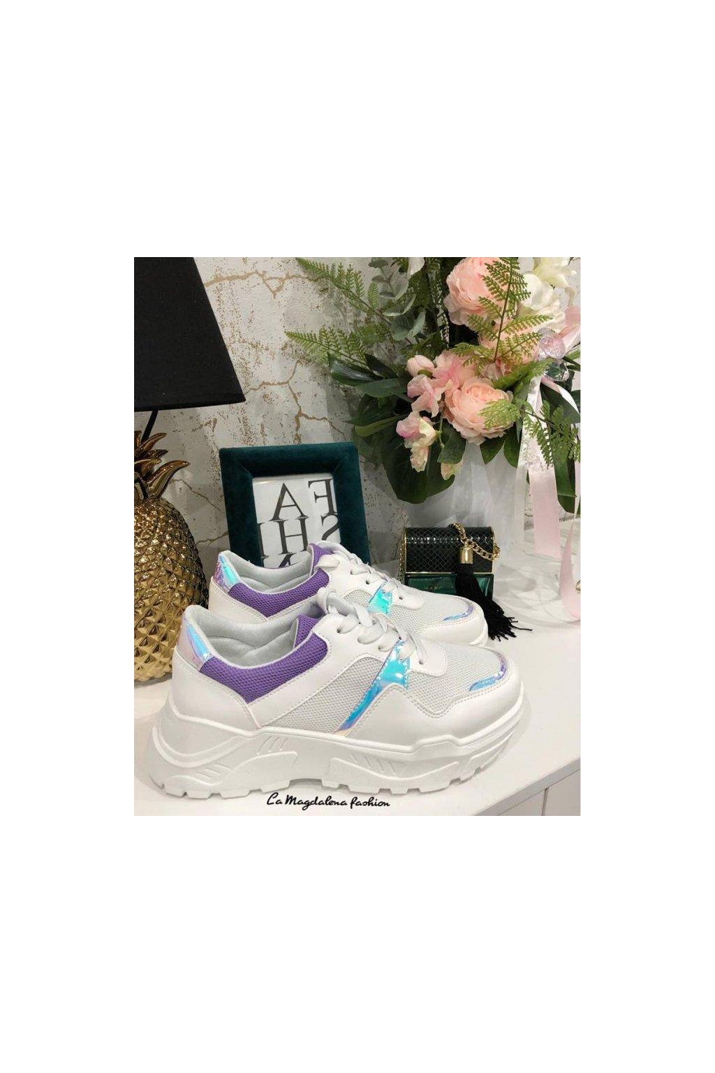 Stylové tenisky violet