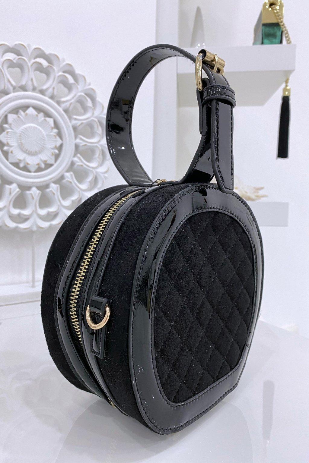 Kabelka - Ring black