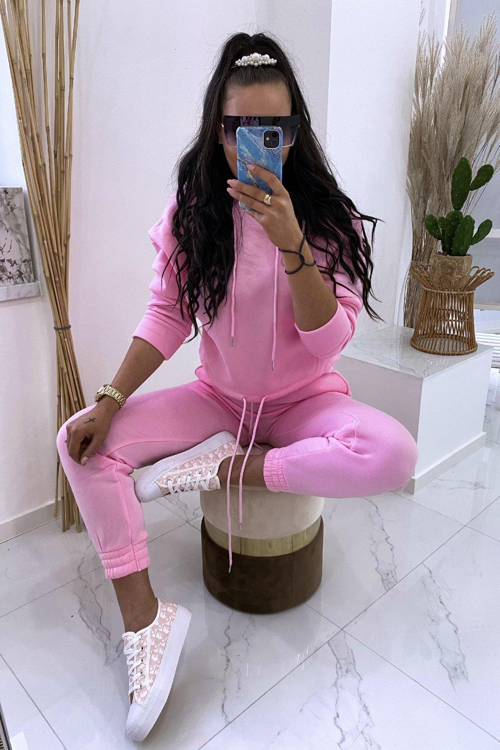 Tepláková souprava - Pink Bueno