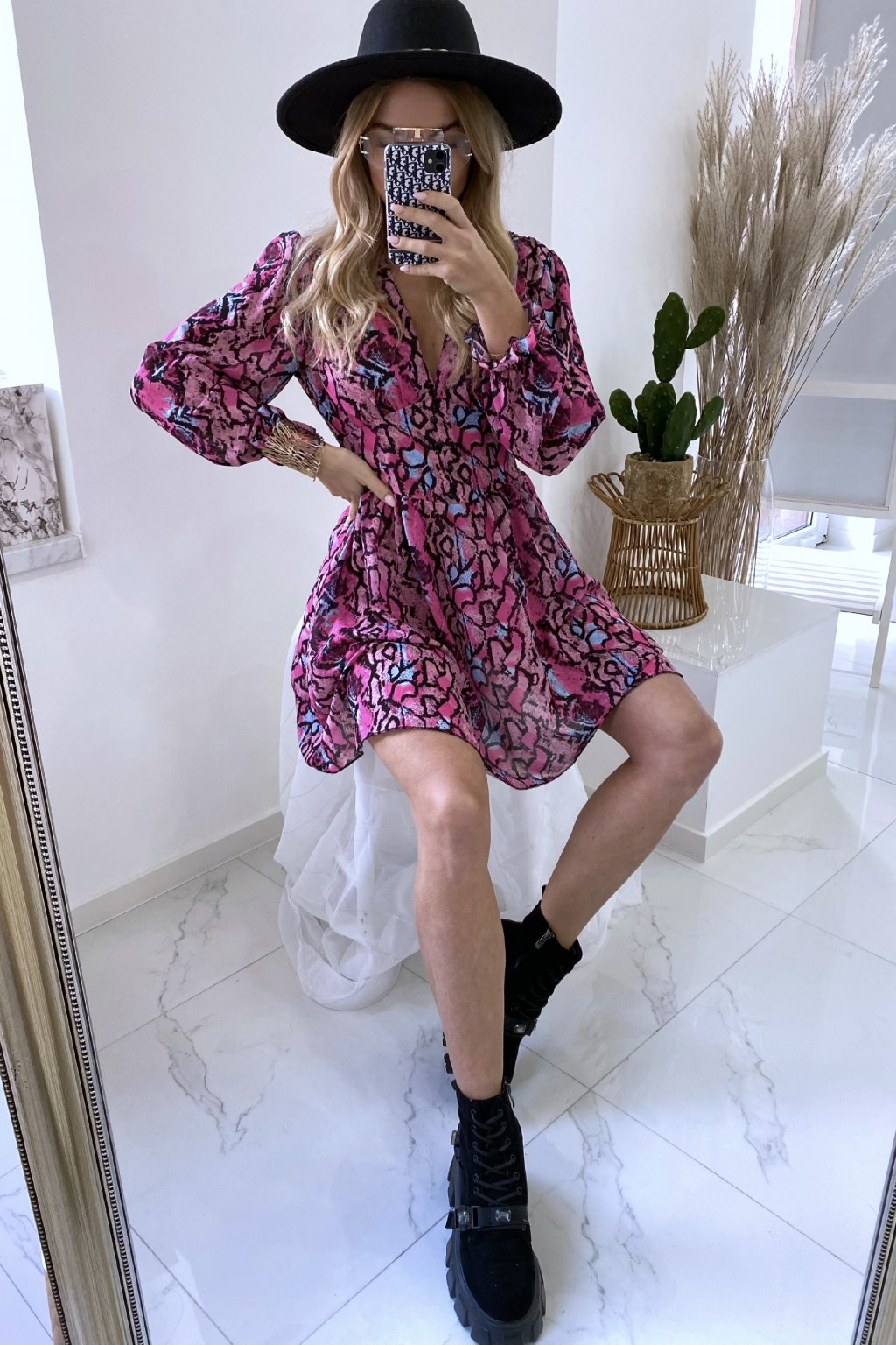 Šaty Versai/Pink