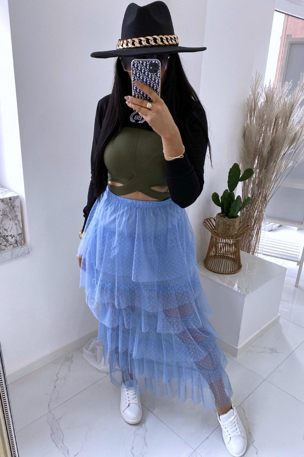 Týlová sukně Lastrada/Blue
