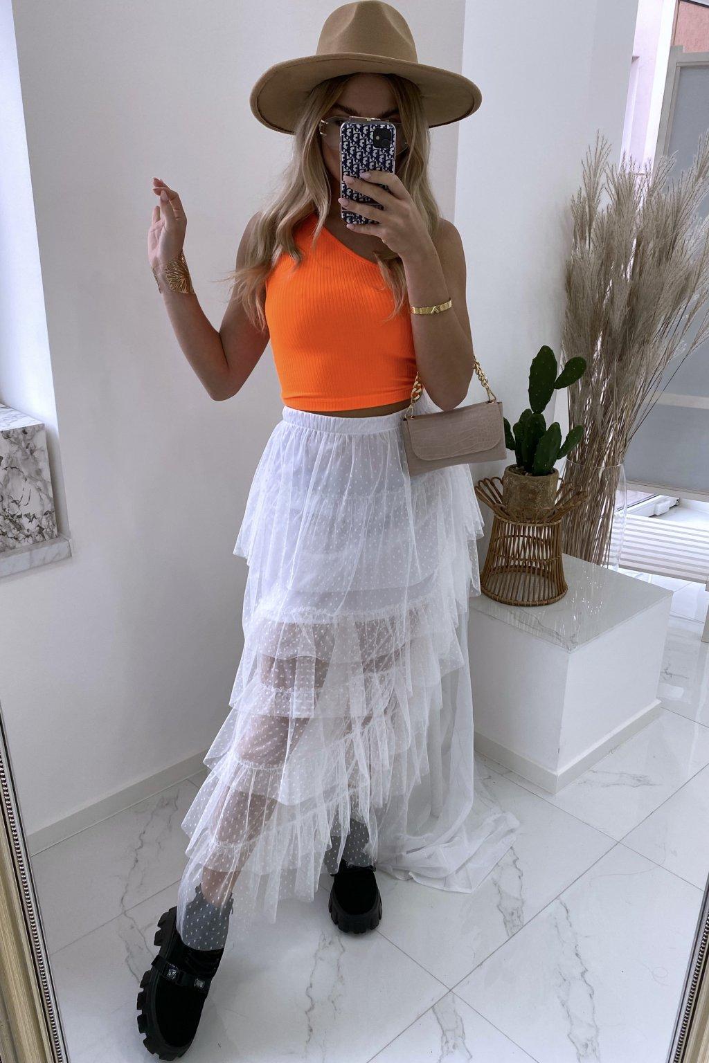 Týlová sukně Lastrada/White