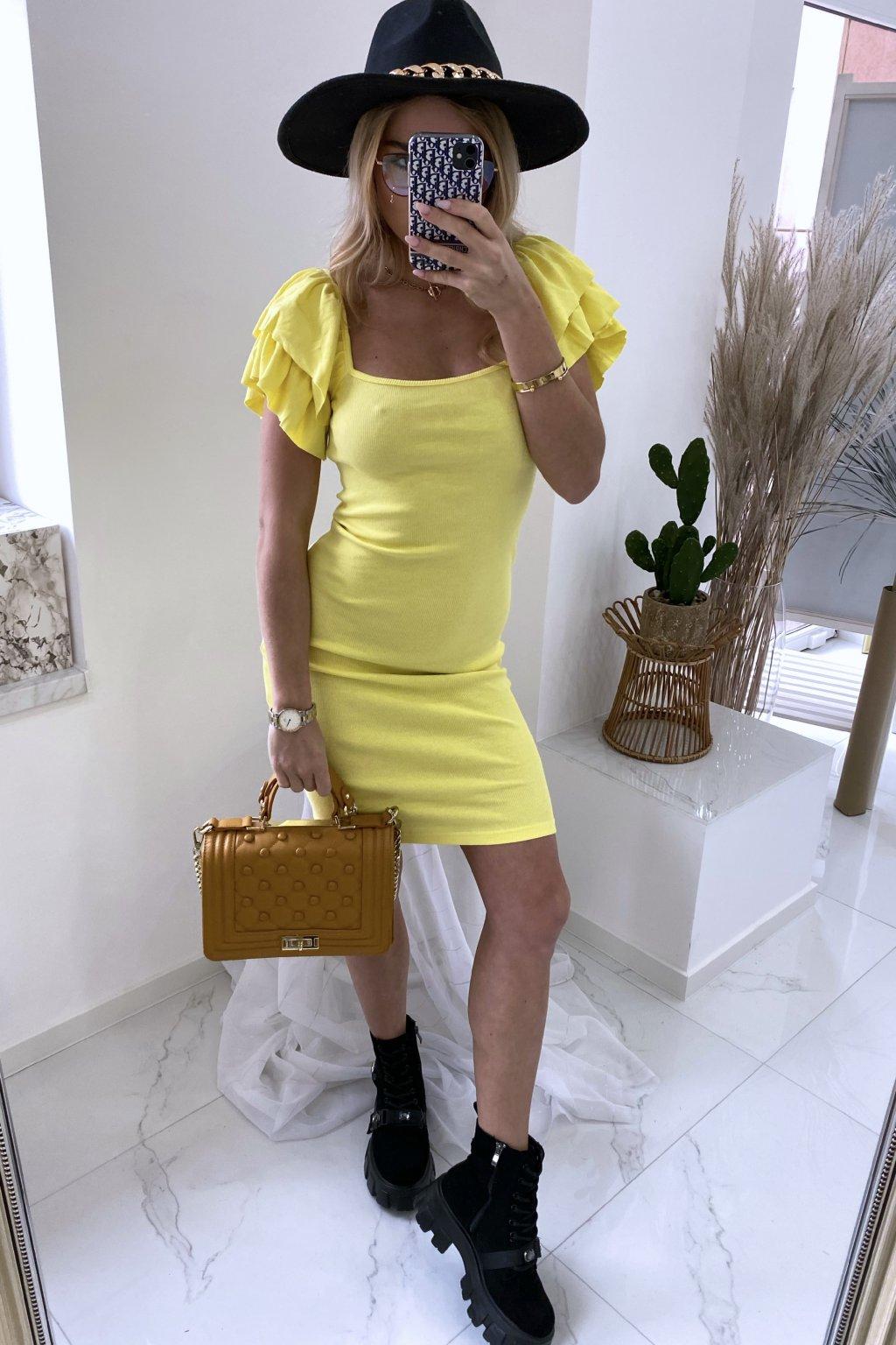 Basic šaty Lemon Angel