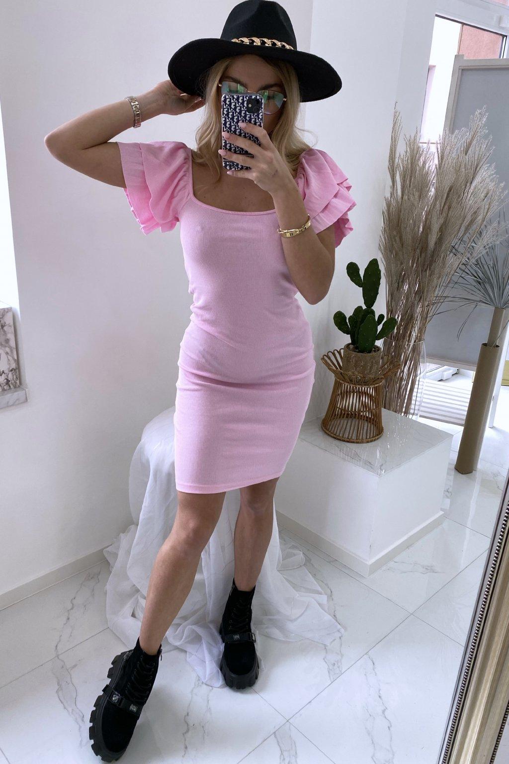 Basic šaty Pink Angel