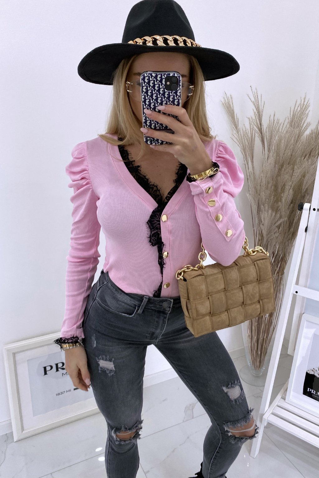 Basic top Lily/Pink