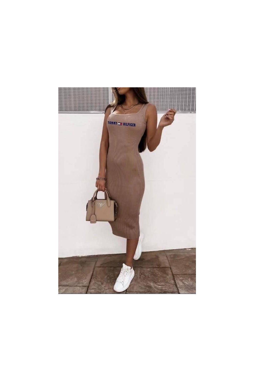 Basic šaty Grande/Cappuccino