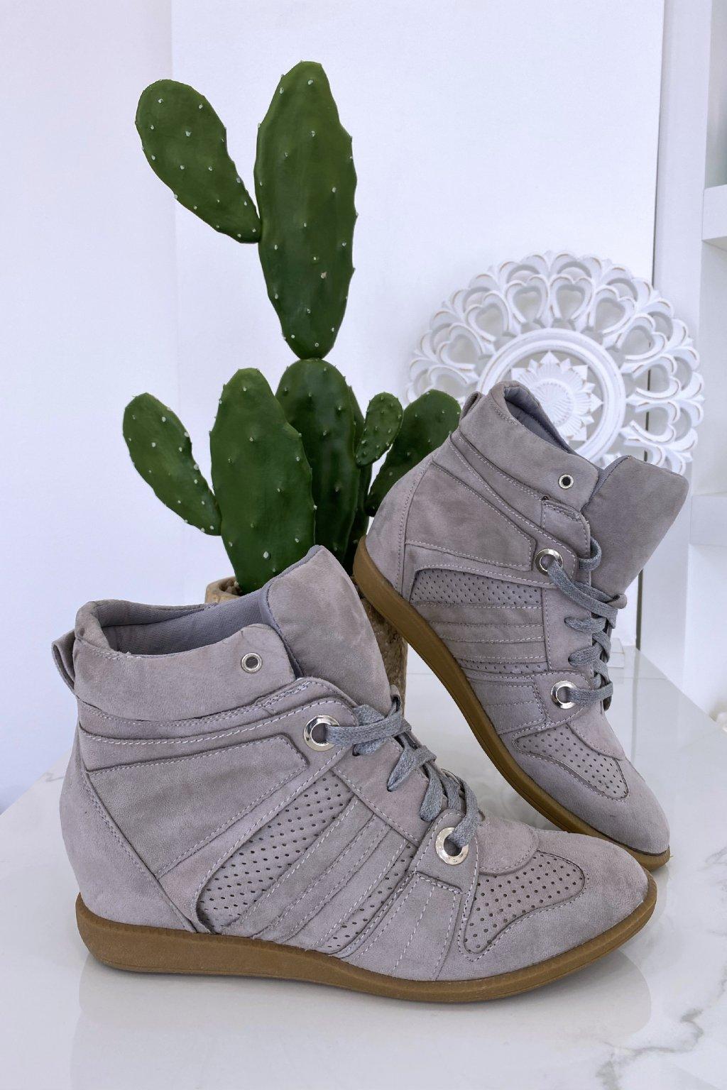 Sneakersy Estel/Grey