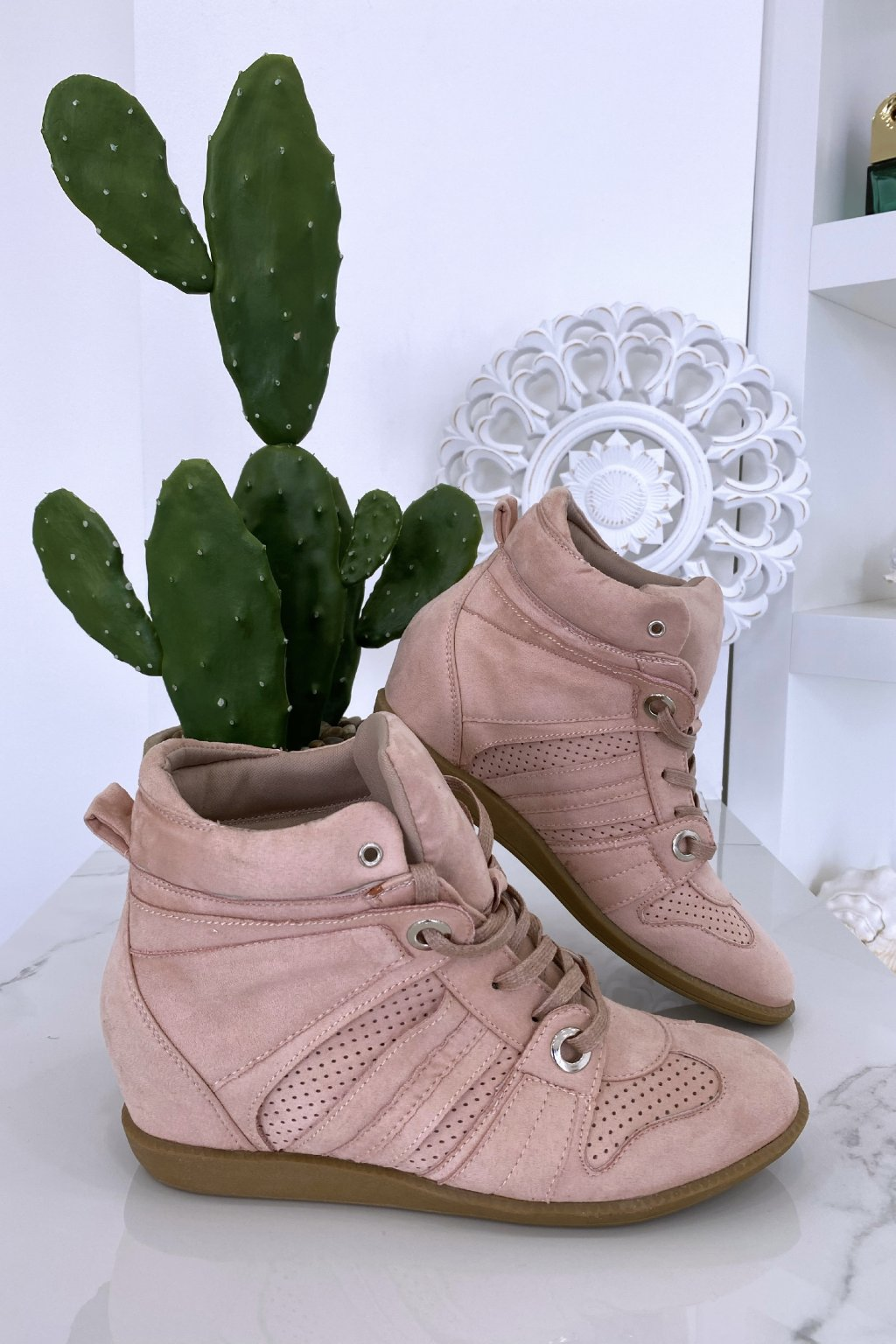 Sneakersy Estel/Pink