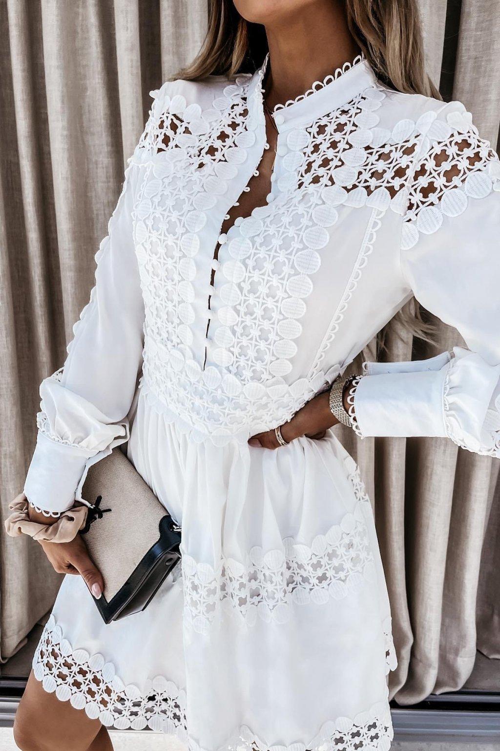 Šaty Maroko/White