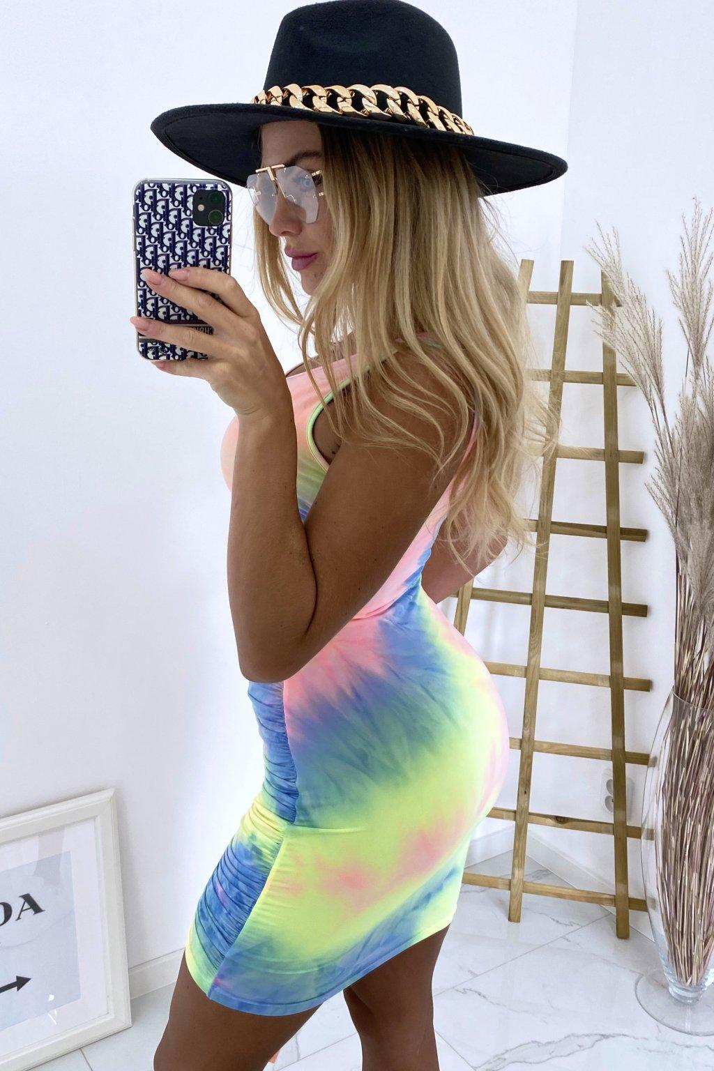 Batik šaty SiSi