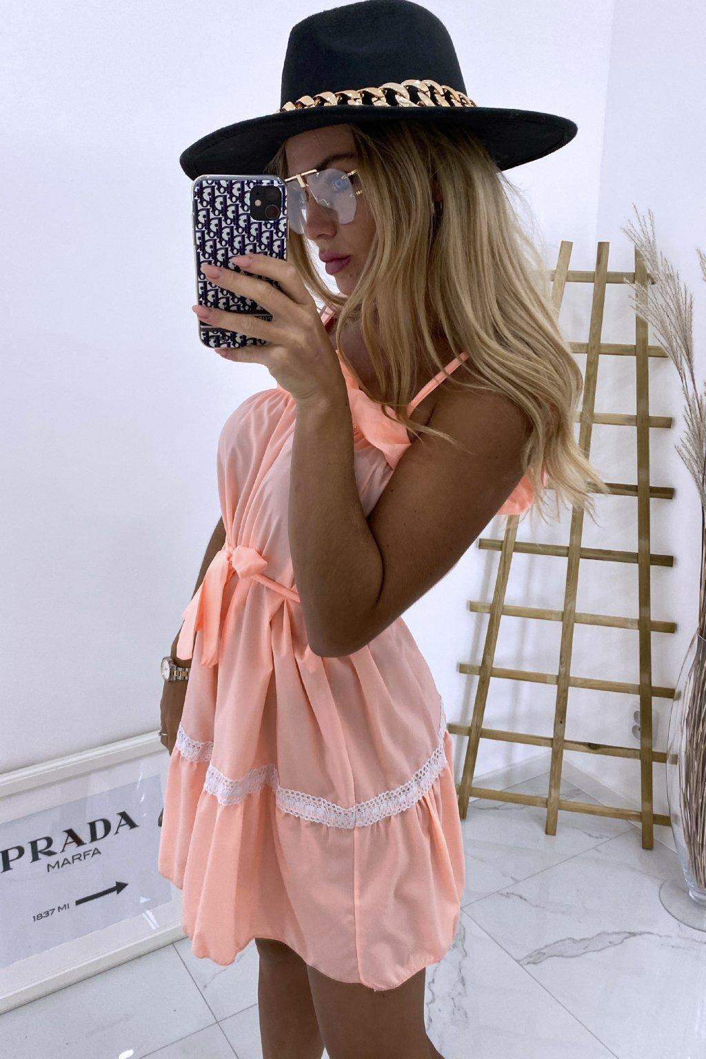 Šaty Ariana/Peach