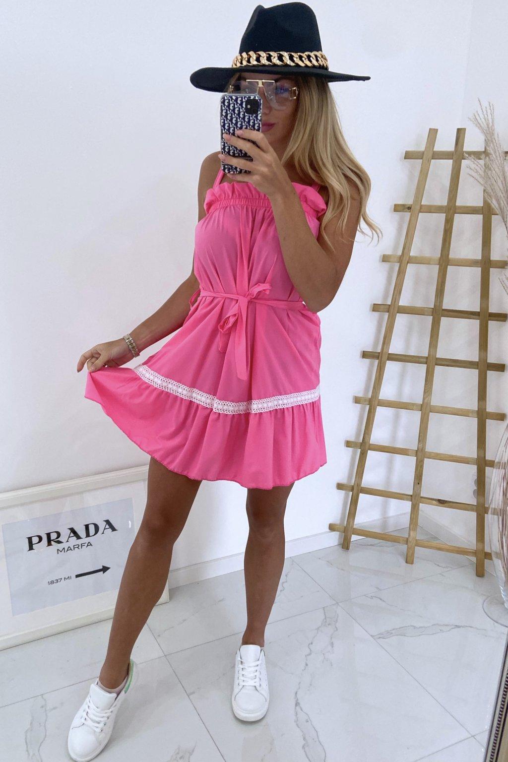 Šaty Ariana/Pink