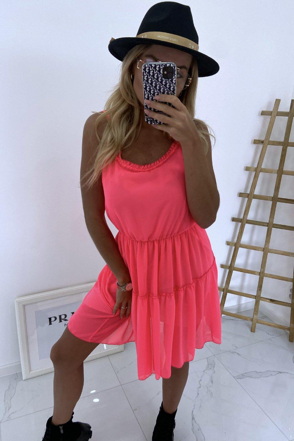 Šaty Olivia/Neon