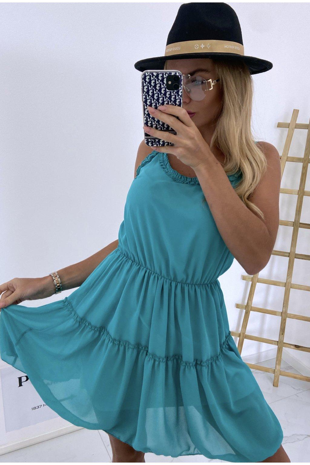 Šaty Olivia/Dark Green