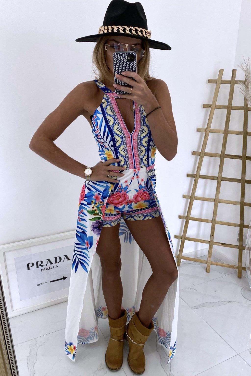 Šaty s kraťasy Amanda