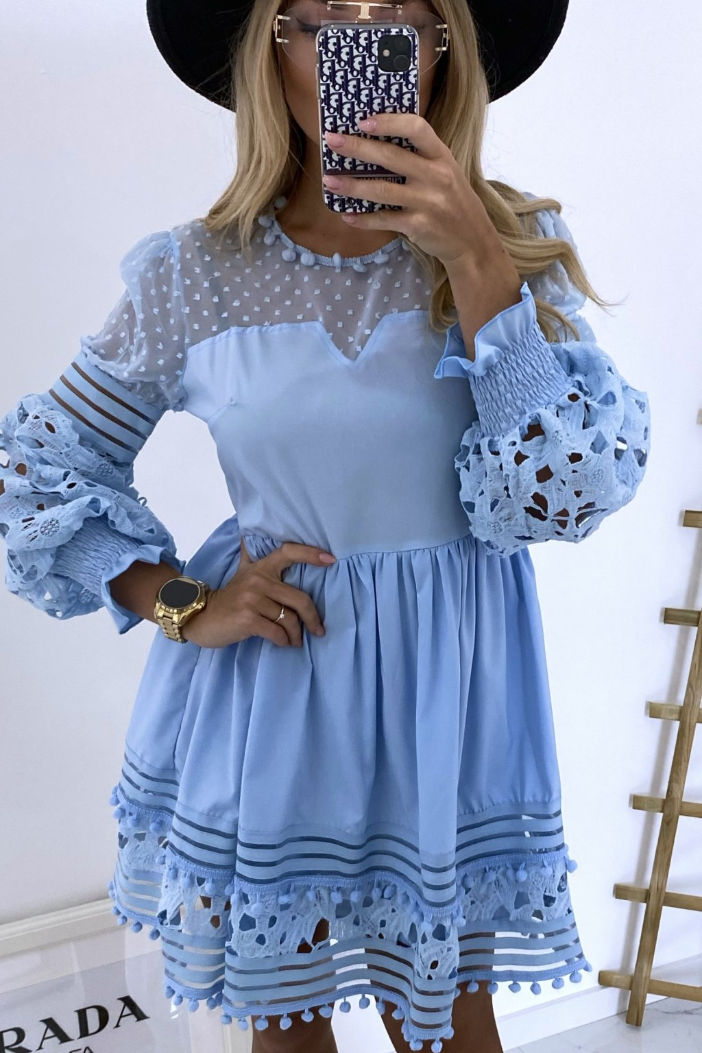 Šaty Cinthia/Baby Blue