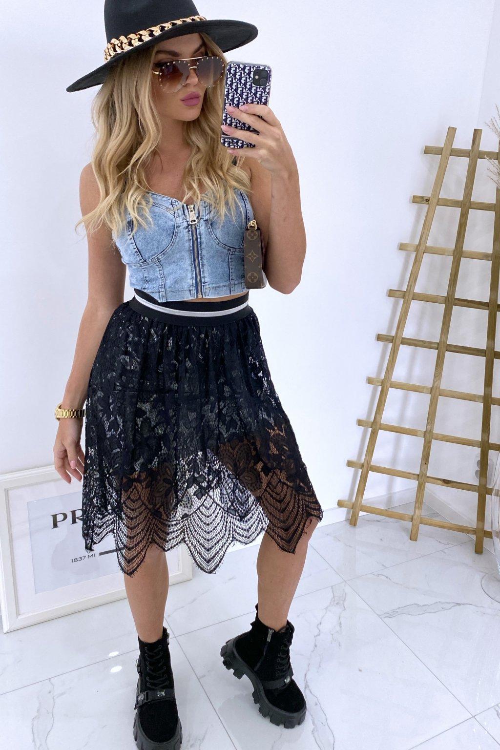Krajková sukně Lolli
