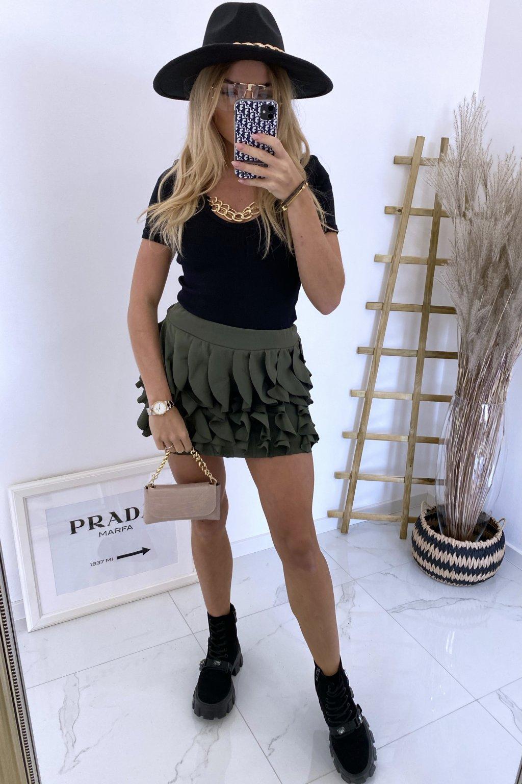 Sukně Venia/Khaki