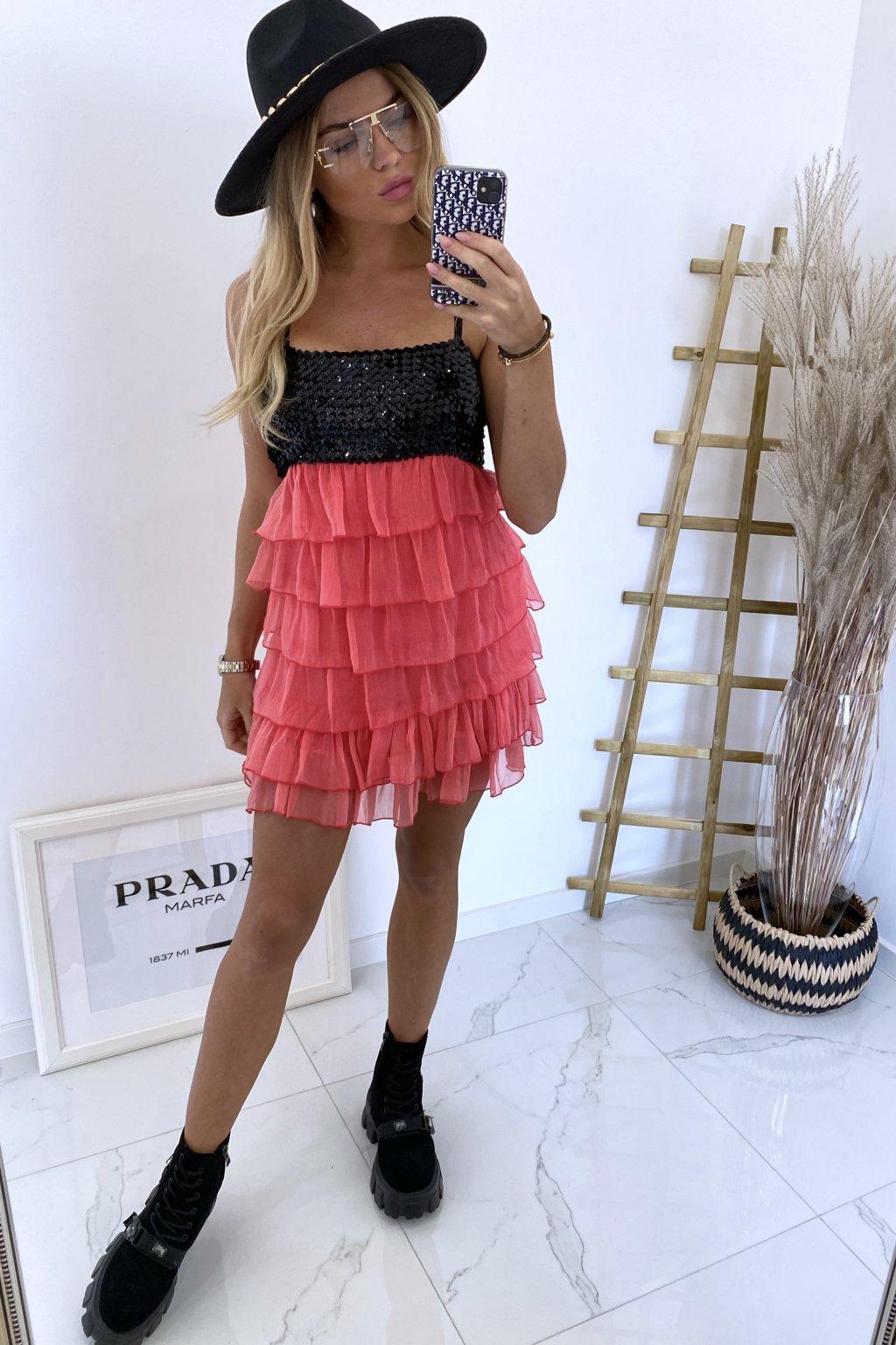 Mini šaty Sendito