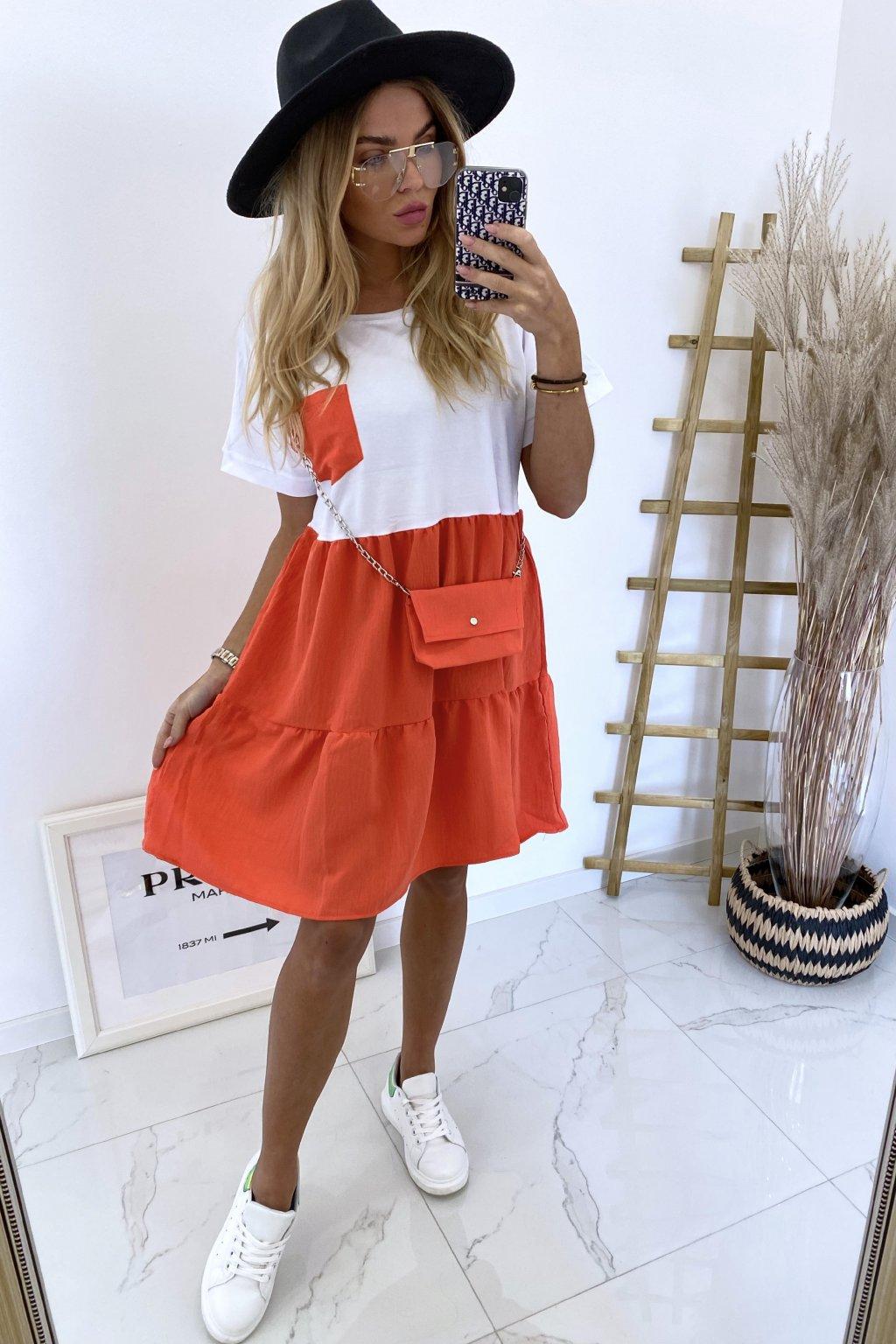 Šaty Naomi/Orange